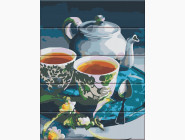 Картины по номерам для кухни Чаепитие