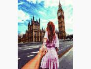 алмазная картина Следуй за мной. Лондон