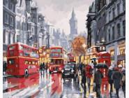 Лондон Автобусы ночного города