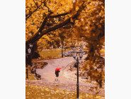 Портреты и знаменитости: раскраски без коробки Осенний парк