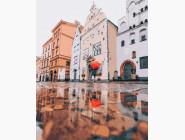 Города мира и Украины: картины без коробки Отблеск осени