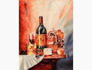 Раскраски для кухни Винная полка