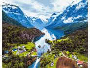 Природа и пейзаж: картины без коробки Швейцарские Альпы
