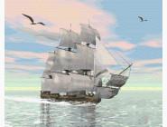 Корабль на рассвете