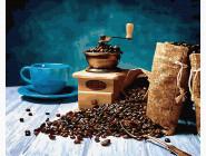 Раскраски для кухни Молотый кофе
