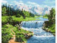 Природа и пейзаж: картины без коробки Горная река