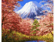 Природа и пейзаж: картины без коробки Фудзияма