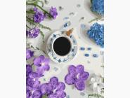 Цветы, натюрморты, букеты Фиалковый кофе