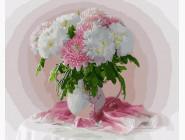 Букеты и натюрморты: картины без коробки Букет хризантем