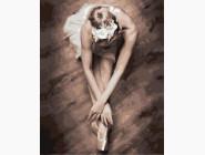 Портреты и знаменитости: раскраски без коробки Балерина
