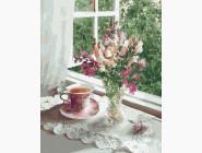 Цветы, натюрморты, букеты Нежность летнего утра