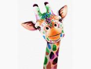 Животные и рыбки Улыбающийся жираф