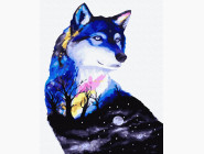 Животные: картины без коробки Тайна волка