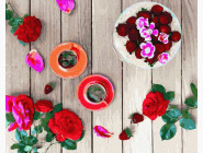 Раскраски для кухни Розовый фретлэй
