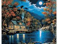 Природа и пейзаж: картины без коробки Лунный причал