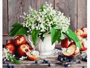 Цветы, натюрморты, букеты Букетик ландышей