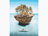 Морской пейзаж: картины без коробки Остров уединения