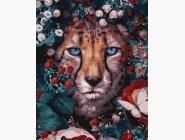 Животные: картины без коробки Цветочной леопард