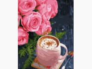 Букеты и натюрморты: картины без коробки Кофе с корицей