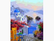 Морской пейзаж: картины без коробки Греческий остров