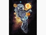 Портреты, люди на картинах по номерам Космический жонглер