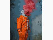 Портреты, люди на картинах по номерам Космический герой