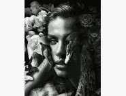 Портреты и знаменитости: раскраски без коробки Женщина с лебедями