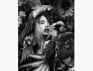 Портреты и знаменитости: раскраски без коробки Амазонка