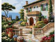Природа и пейзаж: картины без коробки Средиземноморский сад