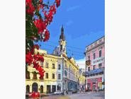 Города мира и Украины: картины без коробки Черновцы. Центральная площадь