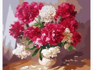 Букеты и натюрморты: картины без коробки Цветы в вазе