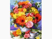 Цветы, натюрморты, букеты Чудесный букет