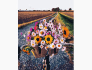 Букеты и натюрморты: картины без коробки Букет из полевых цветов