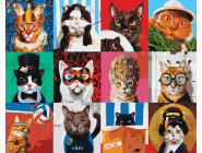 Коты и собаки Кото-коллаж