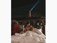 Романтика и влюбленные: картины без коробки Романтика в Париже
