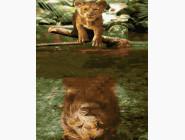 Животные: картины без коробки Дух льва