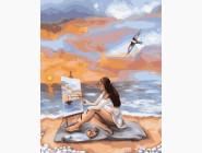 Портреты, люди на картинах по номерам Море вдохновения