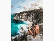 Романтика и влюбленные: картины без коробки Дикий пляж