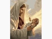 Дети, ангелочки, феи: картины без коробки Новая жизнь. Иисус