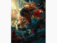 Животные: картины без коробки Бенгальский тигр