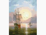 Море, морской пейзаж, корабли Морской пейзаж