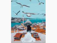 Портреты, люди на картинах по номерам Над Стамбулом