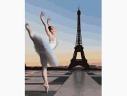картина по номерам Балет в Париже