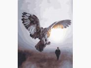 Птицы и бабочки картины по номерам Сова на охоте