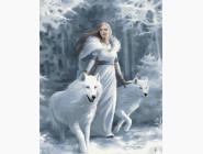 Портреты, люди на картинах по номерам Снежная королева