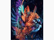 Коты и собаки: картины без коробки Тайна кошки