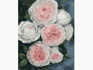 Букеты и натюрморты: картины без коробки Бутоны пышных роз