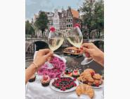 Романтика и влюбленные: картины без коробки Ужин для двоих