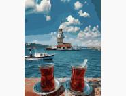 Романтика и влюбленные: картины без коробки Чай для двоих