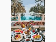 Морской пейзаж: картины без коробки Райский завтрак